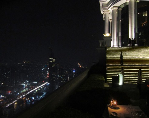 Lebua Tower -hotellin kattoravintola