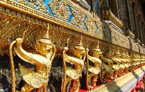 Palatsi- ja temppelialueen loistoa