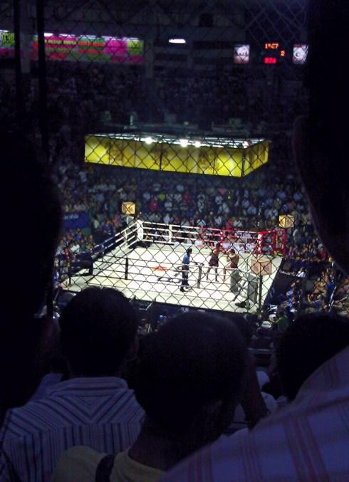 Muay Thai (Thaiboxing) @ Ratchadamnoen Stadium