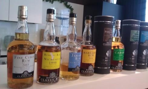 Bristol Classic Rum Tasting (8/10)