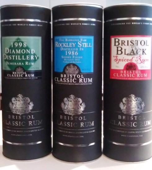 Bristol Classic Rum Tasting (loput)